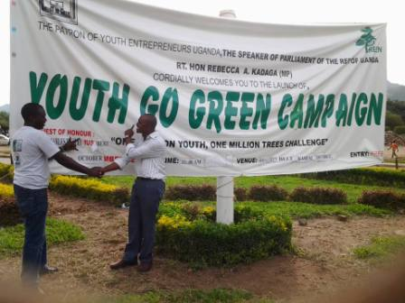 Youth Go Green Uganda - Volunteers18