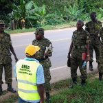 UPDF TROOPS decorate Bombo Road