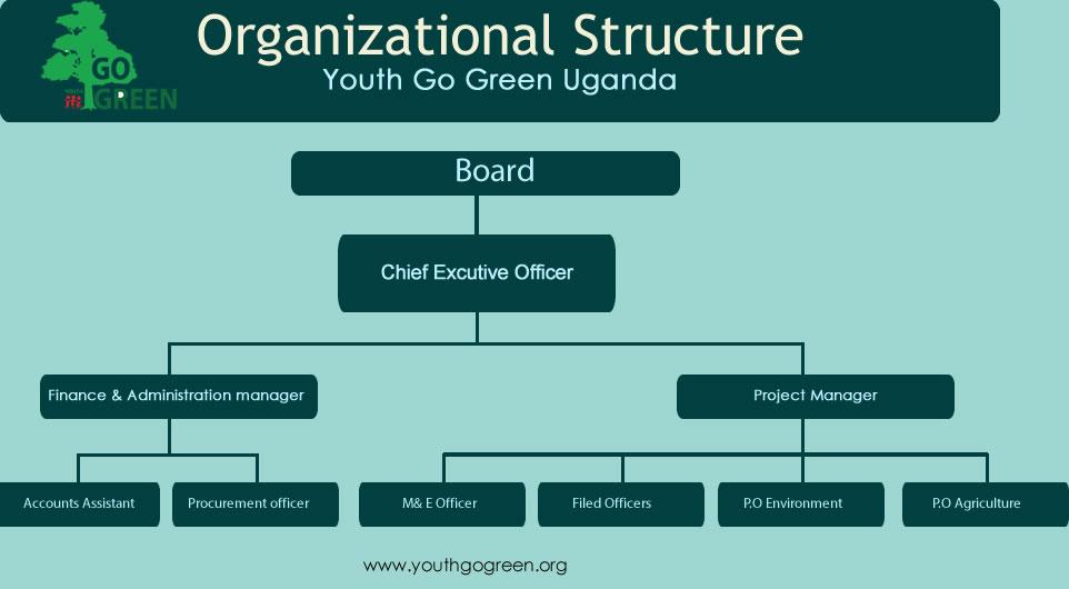 Youth Go Green Uganda Board- Organisational Structure