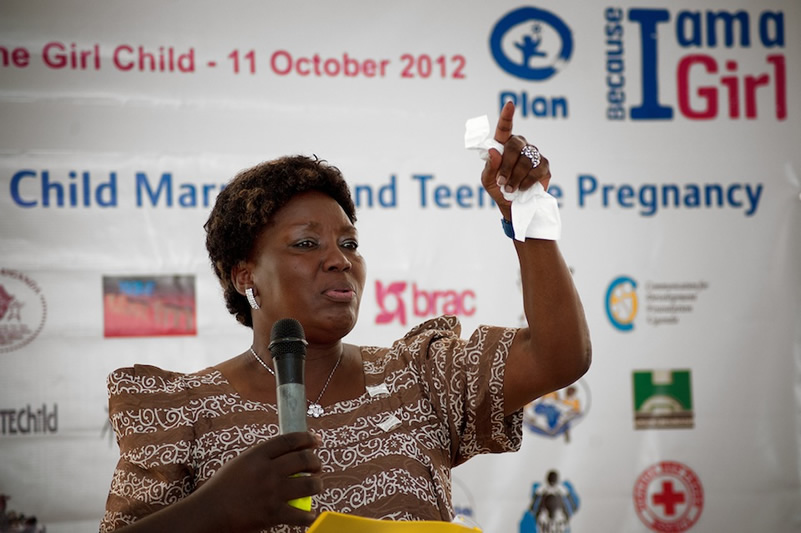 Rebecca Kadaga, Patron, Youth Go Green 2017